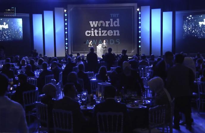 """TRT'den küresel proje """"Dünya vatandaşı"""" ödülleri"""