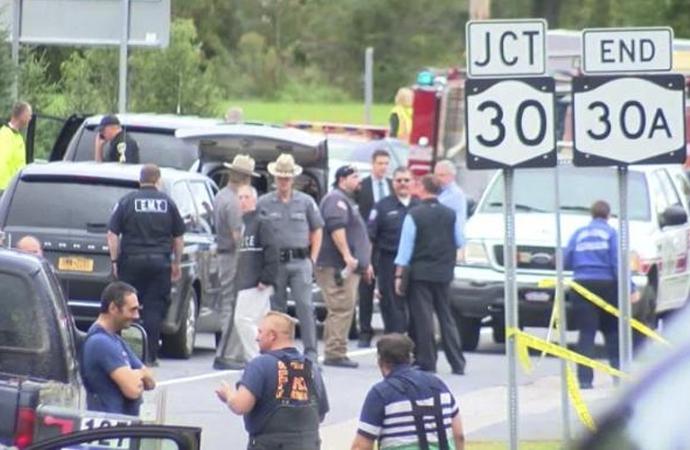 Limuzin kazasında 20 ölü