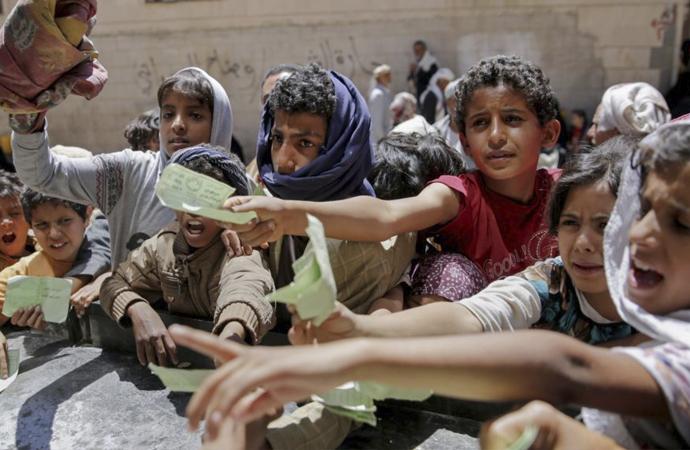 Yemen'de ihtiyaç içinde 22 milyon insan var