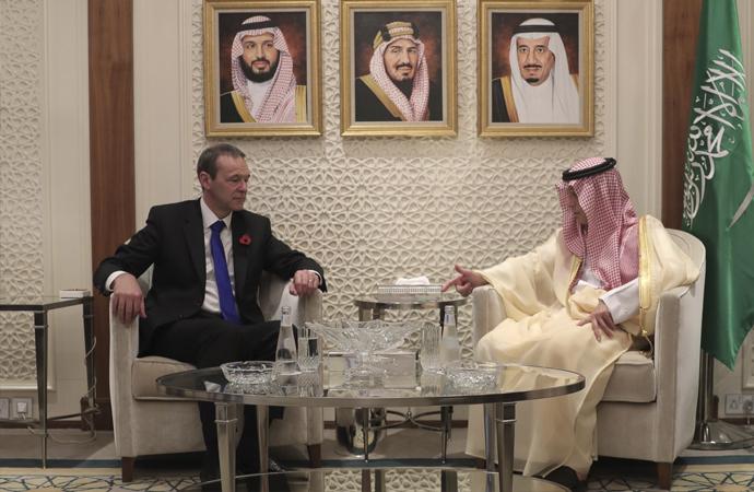 İngiltere başbakanının özel elçisi Riyad'da