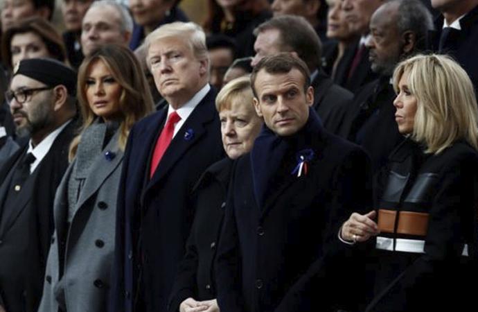 I.Dünya Savaşını anmak için toplandılar