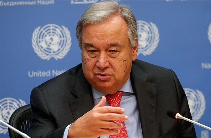 BM Sekreteri: 'Gazze'de tarif edilemez bir trajedi var'