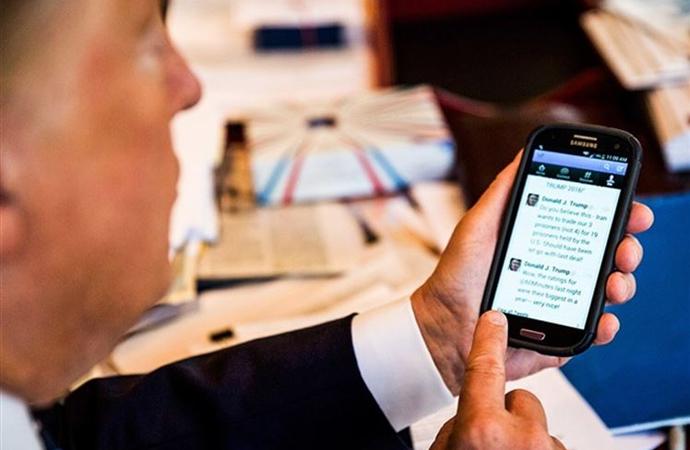 ABD Başkanı, Fransız Cumhurbaşkanını ti'ye aldı