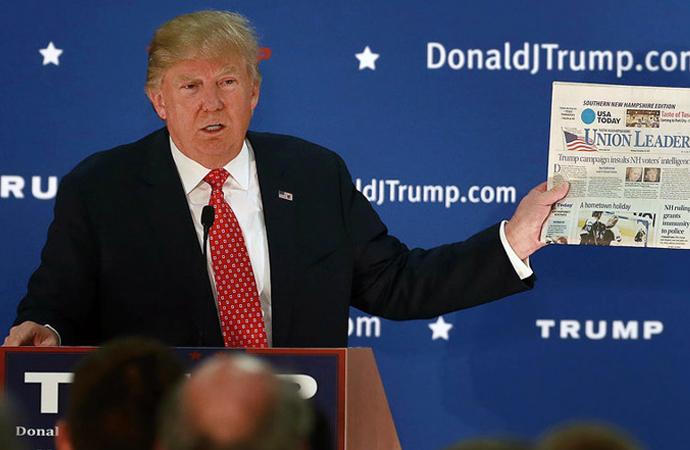 ABD basınında Trump'a sert eleştiriler