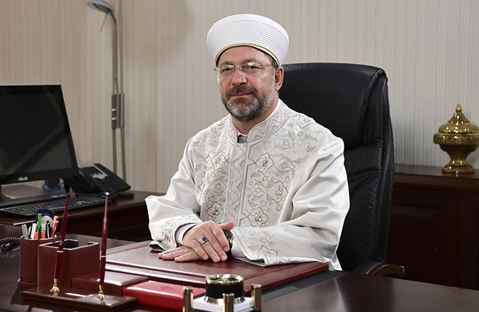 Şevket Eygi'den muhterem Başkan'a sedef masa ve cübbe-sarık önerisi