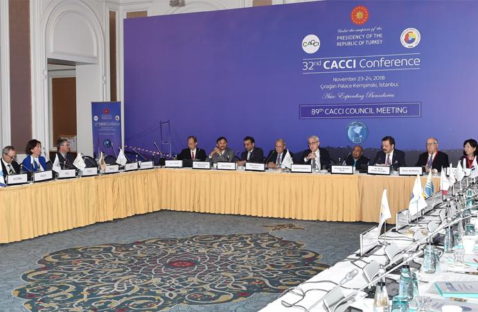 Yeni İpek Yolu üzerinde 32.CACCI toplantısı