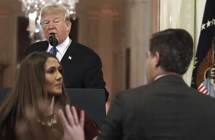 Trump: 'Burası kutsal bir mekan'