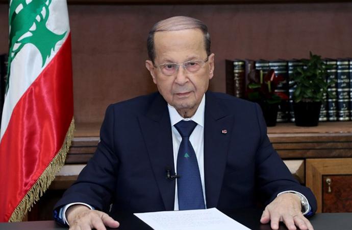Lübnan Cumhurbaşkanı Avn: BM'nin Filistin kararları kağıt üzerinde kalıyor!