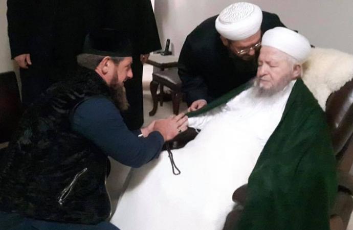 Kadirov'un İstanbul'da Şeyh ziyareti