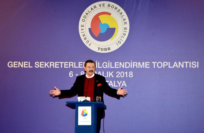 TOBB toplantısı Roma'da gerçekleştirildi