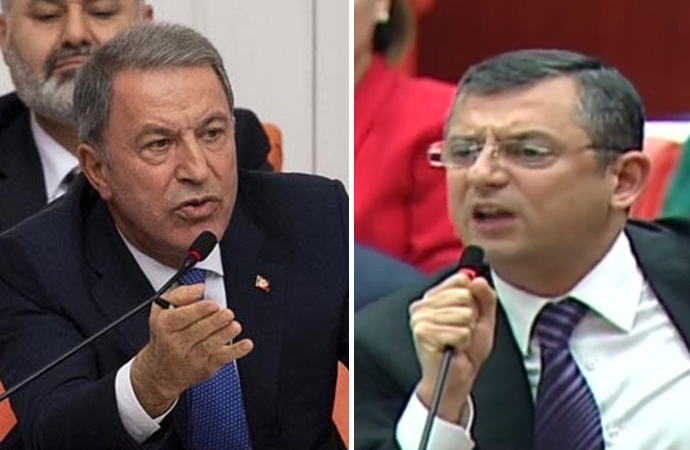 Meclis'te, Hulusi Akar – Özgür Özel tartışması