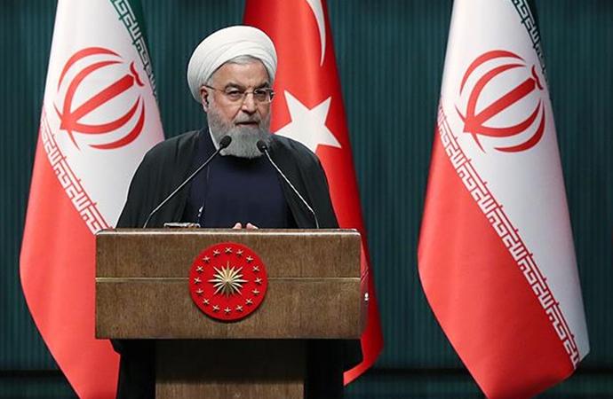 Ruhani: 'Türkiye ile birlikte doğuyu batıya, kuzeyi güneye bağlarız'