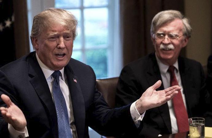 Trump 'çekilme' kararını tekrarladı