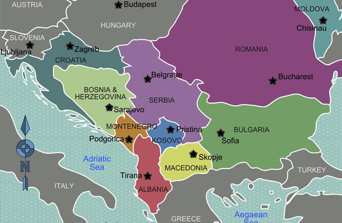 Batı Balkanlarda 2018 yılının infografik özeti