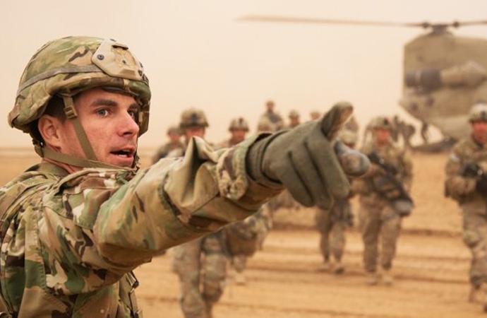 ABD'nin Irak'taki askeri varlığı