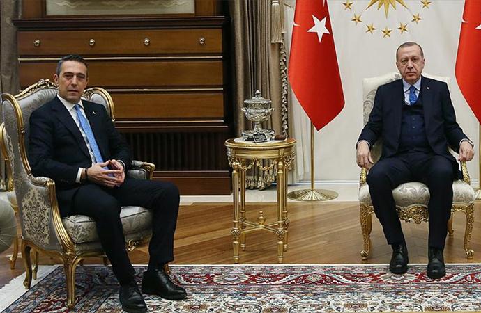 Ali Koç'tan Cumhurbaşkanı Erdoğan ve Hulusi Akar'a ziyaret