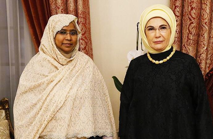 Sudan Eğitim Bakanı Abdalla, Cumhurbaşkanlığı Külliyesi'nde