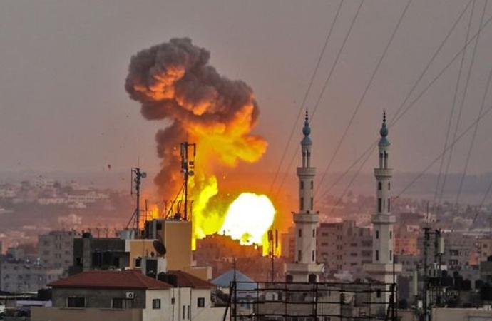 İsrail ordusu, Gazze'yi 2018 boyunca kaç kez bombaladı?