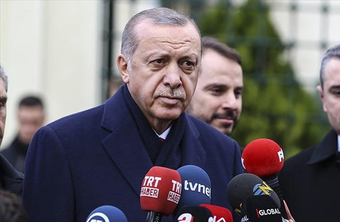 Erdoğan: 'Böyle bir gelişme olmuş olabilir'