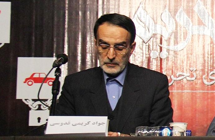 Meşhed Milletvekili Kuddusi: 'İran'da milletvekillerinin yarısı rejimin yıkılması için uğraşıyor'
