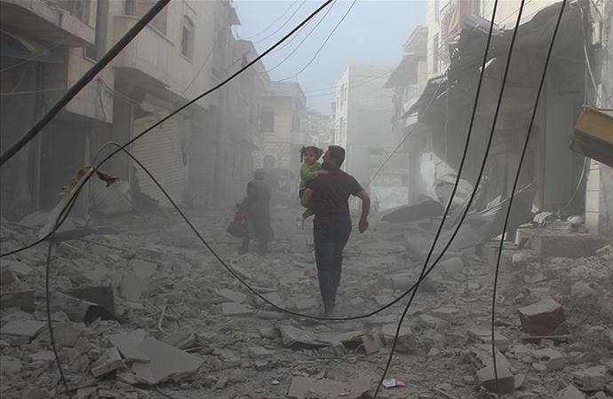 Esed rejimi İdlib'e saldırıları devam ediyor