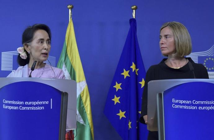 Avrupa Birliği, Myanmarlı yetkililere ilave yaptırım hazırlığında