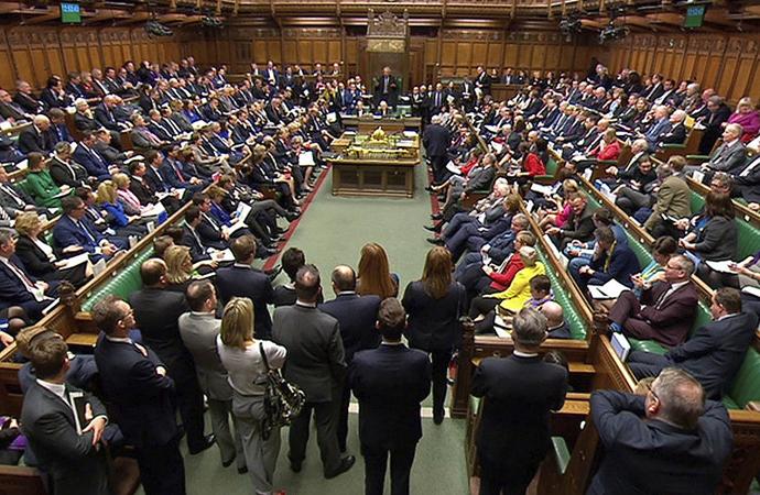 İngiliz Parlamentosu Brexit'i reddetti