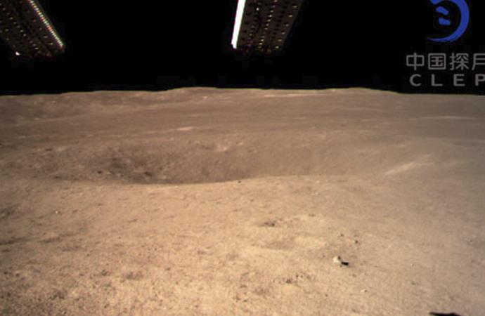 Ayın karanlık yüzeyinde Çinliler keşfe başlıyor