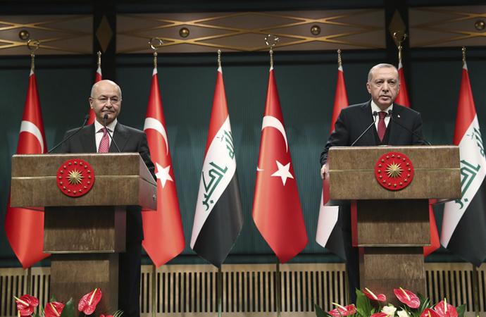 Irak ile Türkiye arasında kardeşlik ve işbirliği mesajı