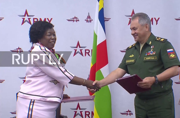 Orta Afrika'dan Rusya'ya askeri üs teklifi