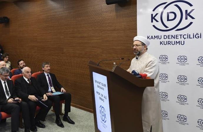 Erbaş: 'Din güvenliği milli güvenlik konusu haline gelmiştir'