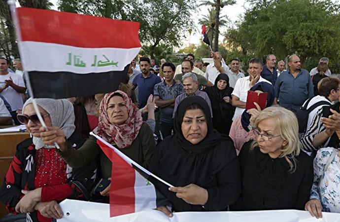 Bağdat'ta İran'ı eleştiren Şii milis lider tutuklandı