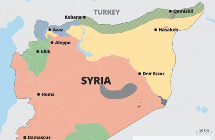 Suriye'de 'Güvenlik bölgesi' ile ilgili 12 madde
