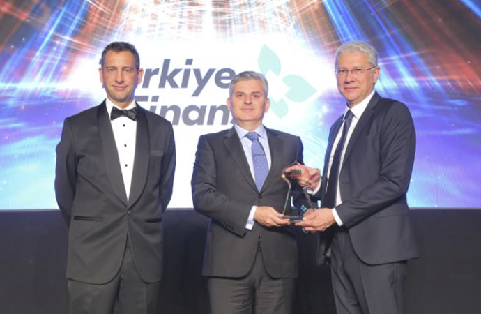 """Katılım Bankası'na """"En İyi İslami Banka"""" ödülü"""
