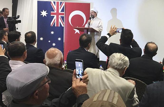 Diyanet İşleri Başkanı Erbaş, Avustralya'da