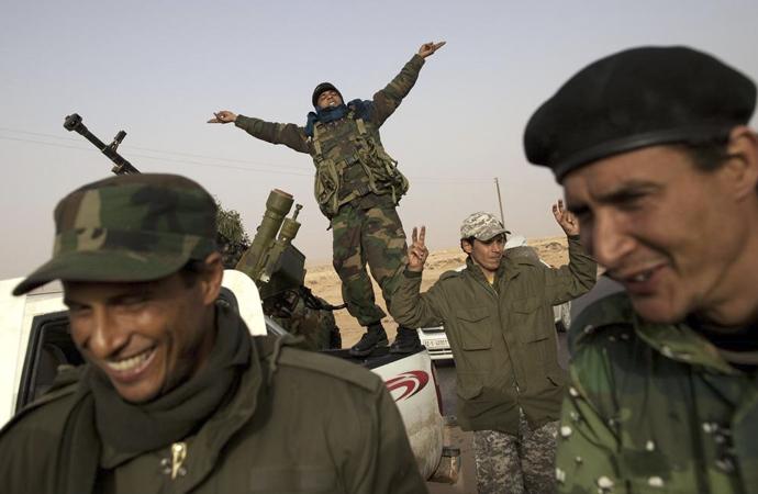 Libya'da savaşan siyasi aktörler