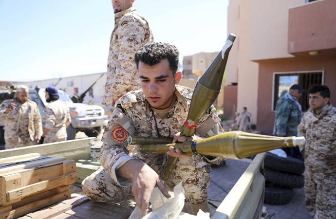 'Çatışmanın seyrini askeri dış destek belirleyecek'