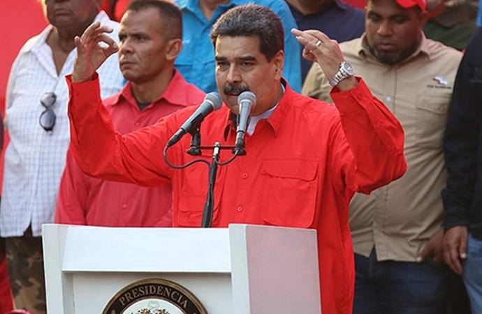Maduro: 'Darbe girişimini bizzat Bolton yönetti'