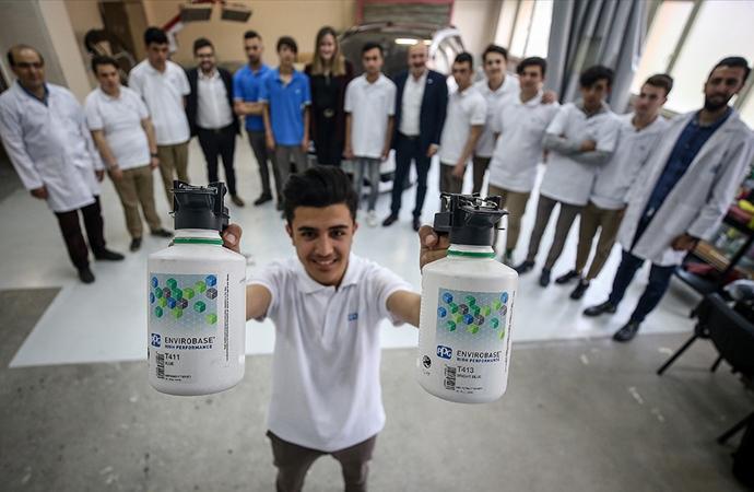 Bursa'da bir meslek lisesine iki dev şirketten destek