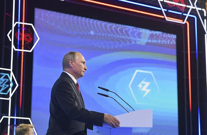 Putin: 'Yapay zeka'da tekelleşen dünyayı yönetir'