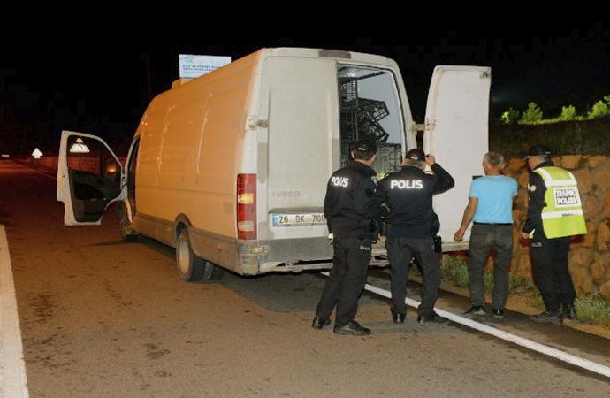 'Sarar' soyguncuları Bulgar sınırında yakalandı