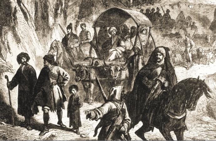 İnsanlık tarihinin bir başka kara lekesi: Çerkes sürgünü