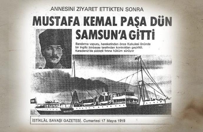 Bardakçı: Mustafa Kemal'i Samsun'a 'Devlet' gönderdi