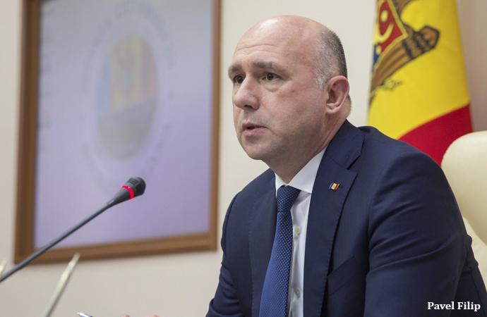 Moldova da ABD'nin safında