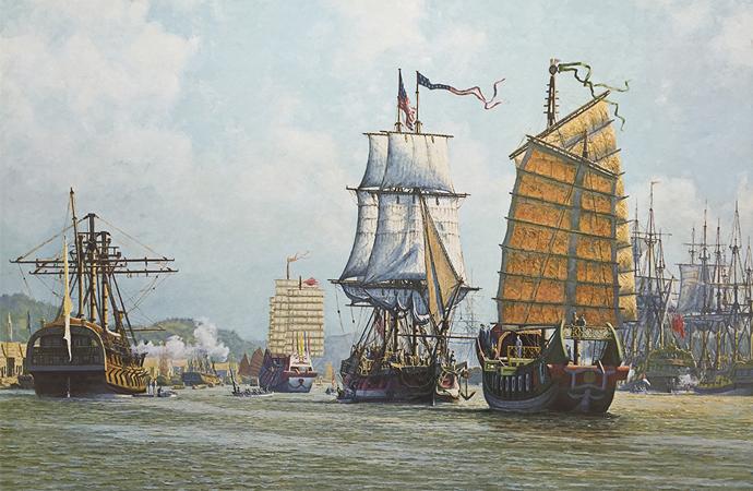 Çin-ABD ticareti 1784 yılında başlamış
