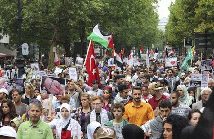 Kudüs yürüyüşüne Anti-semit suçlaması