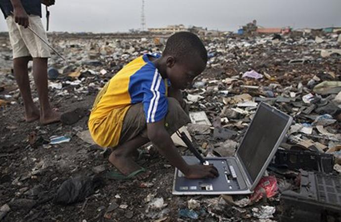 Gelişmiş (!) ülkeler e-atıklarını nereye gönderiyor?