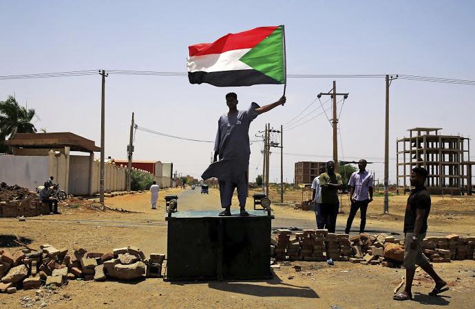 "Sudan'da ""sivil itaatsizlik"" eylemleri"