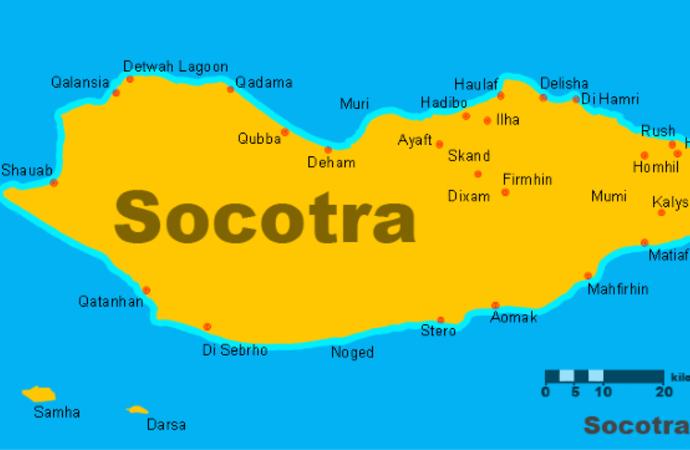 BAE'nin hedefi Yemen'in stratejik adası: Sokotra