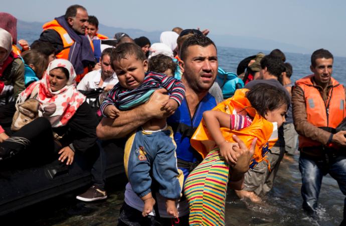 Suriyeliler 6 kıtada 127 ülkeye dağıldı (infografik)